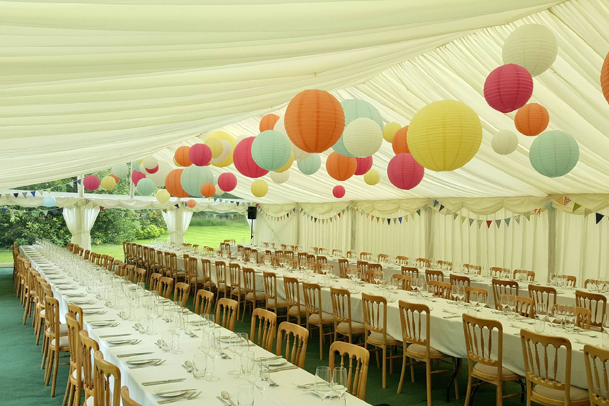 Marquee hire for weddings and corporate events hampshire witshire