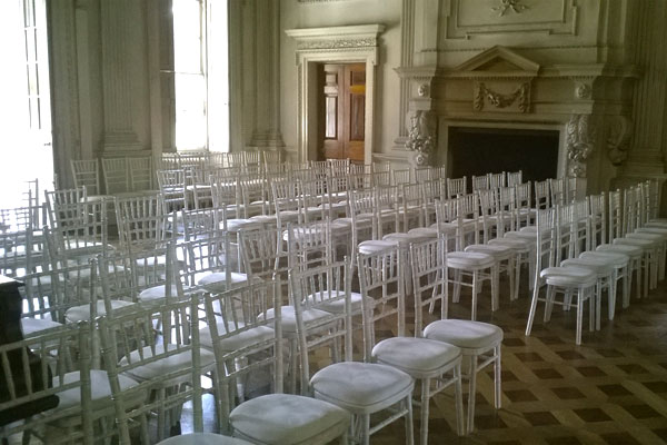 Chait and Furniture Hire for weddings and events