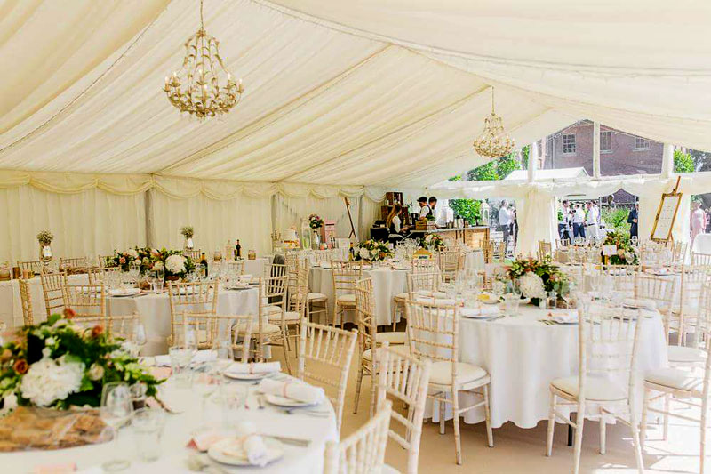Marquees for weddings and events