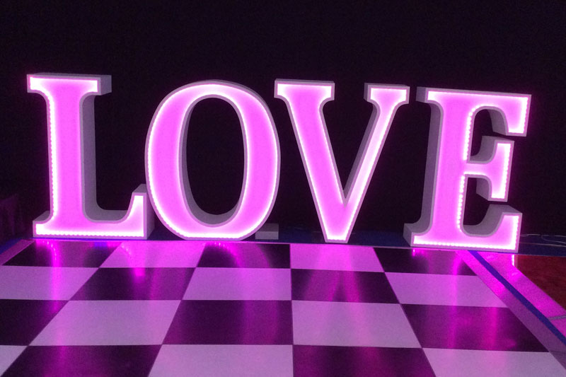 Love Letters and bar hire