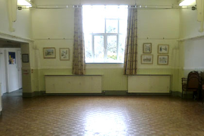 Village Hall Room Decoration Before