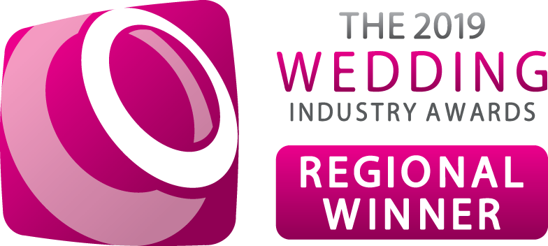 Regional winner of the Wedding Industry Awards